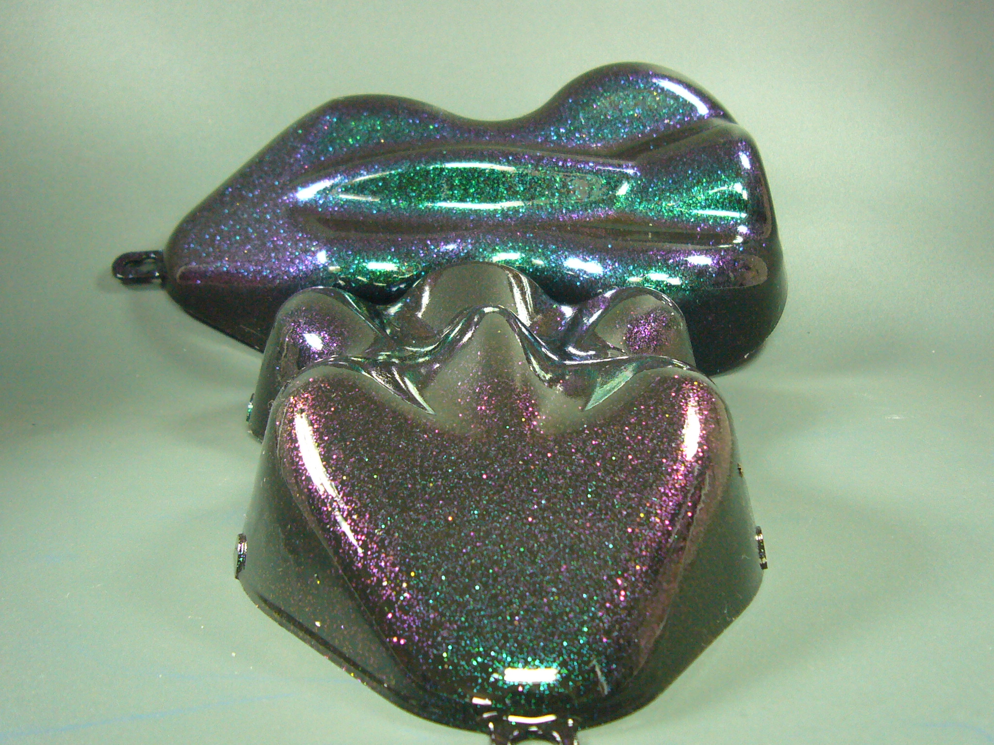 Sparkle Green / Purple